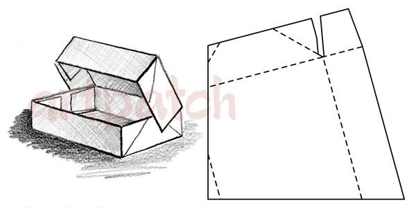 Как сделать рисунок на коробке 52